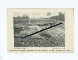 """CPA  - Guerre 1914-15  - Grosse Bombe Allemande,dite """"double Décalitre"""" Tombés Près D'une Tranchée De La Somme - Zonder Classificatie"""