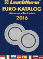 Deutschland EURO Katalog 2016 Für Münzen Numisblätter Numisbriefe Neu 10€ Mit €-Banknoten Coin Numis-catalogue Of EUROPA - Telefonkarten