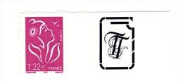 Lamouche 1.22 € ITVF Personnalisé Autoadhésif Grande Vignette YT 3802C . Voir Scan . Cote YT : 17 € , Maury N° 34 : 14 € - Personalized Stamps