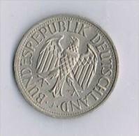 Bundesrepublik Deutschland - 1 Deutsche Mark 1971 - [ 6] 1949-1990 : RDA - Rép. Démo. Allemande