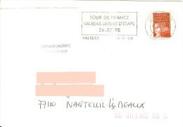 Tour De France 1998 Flamme Valréas Ville Départ D'étape  - Vélo Cycliste Sport Cyclisme - Ciclismo