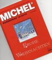Briefmarken Rundschau MICHEL 12/2015 Neu 6€ New Stamp Of The World Catalogue And Magacine Of Germany ISBN4 194371 105009 - Badges