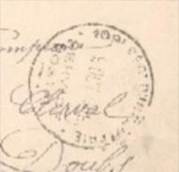 52 - Chaumont - Cachet 109 éme Rgt D'infanterie - 29éme Cie - Caserne Du 109 éme - Marcophilie (Lettres)