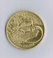 Pologne - 2 Zlote-Lizard-Sauria-2009 - Pologne