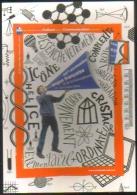"""Carte Postale édition """"Carte à Pub"""" - 10e Semaine De La Langue Française Et De La Francophonie - Advertising"""