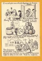 11 Aude Lezignan Corbieres  Carte Publicitaire De Marcellin Combes Negociant - France