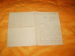 LETTRE  ANCIENNE DE 1919. / BARBEZIEUX A LARODDE. A ETUDIER. - Vieux Papiers