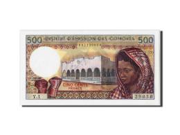 Comores, 500 Francs Type 1976 - Comoros