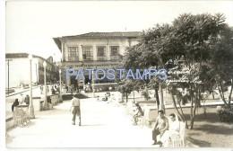 24637 MEXICO TEZIUTLAN PUEBLA SQUARE PARQUE CENTRAL  POSTAL POSTCARD - Mexique