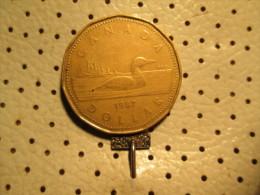 CANADA 1 Dollar 1967  # 2 - Canada