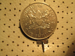 KENYA 1 Shilling 1978  # 2 - Kenya