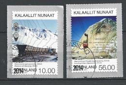 Groënland 2014, N°642/643 Oblitérés, Mines - Greenland