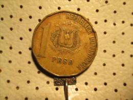 DOMINICANA 1 Peso 1991  # 2 - Dominicana