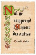 Philosophie Et Pensées--AMOUR  DES AUTRES---par Marcelle Auclair   N° N 9  éd Roussel - Philosophie & Pensées