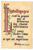 Philosophie Et Pensées--INTELLIGENCE--par Plotin   N° L 33 éd Roussel - Philosophie & Pensées