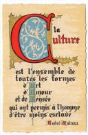 Philosophie Et Pensées--CULTURE--par André Malraux   N° L 34  éd Roussel - Philosophie & Pensées
