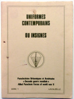 UNIFORMES,PARACHUTISTE,BRITANNIQUES,AMERICAINS,2è GUERRE MONDIALE,allied Parachute Forces World War II - Catalogues