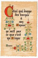 Philosophie Et Pensées--AMOUR--par Bossuet   N° C 7   éd Roussel - Philosophie & Pensées