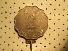 HONG KONG 2 Dollars 1993  # 2 - Hong Kong