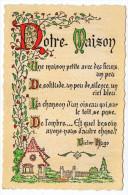 Philosophie Et Pensées--NOTRE MAISON--par  Victor Hugo   N° N 1   éd Roussel - Philosophie & Pensées