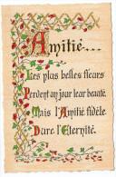 Philosophie Et Pensées--AMITIE------  N° A 2   éd Roussel - Philosophie & Pensées