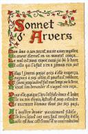 Philosophie Et Pensées--SONNET D'ARVERS   N° S 7   éd Roussel - Philosophie & Pensées