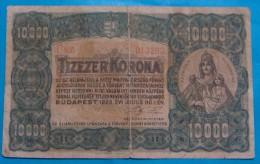 HUNGARY 10,000 KORONA 1923 VF - Ungarn