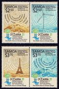 SAMOA 2015 - COB 21, Paris 2015, Environnement, Tour Eiffel - 4 Val Neufs // Mnh - Samoa