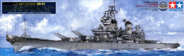 US Battleship BB-63 Missouri 1/350 ( Tamiya ) - Boats