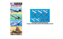 Japanese Naval Planes Early Pacific War 1/700 - Airplanes