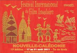 NOUVELLE CALEDONIE---Festival Du Film Insulaire---voir 2 Scans - Nouvelle-Calédonie