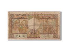 Belgique, 50 Francs Type 1948 - [ 6] Staatskas
