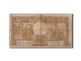 Belgique, 50 Francs Type 1948 - [ 6] Tesoreria
