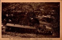 74-ST-GERVAIS..LE CHEMIN DE FER DU MONT BLANC..CPA - Saint-Gervais-les-Bains