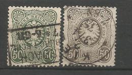 ALLEMAGNE   1875       N°  35..35A - Deutschland