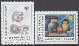 ARGENTINA, 1979 INT YEAR CHILD 2 MNH - Argentina