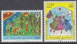 ALGERIA, 1979 INT YEAR CHILD 2 MNH - Algeria (1962-...)
