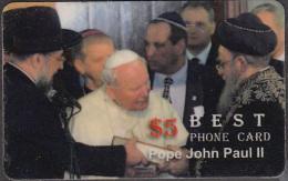 POPE JOHN PAUL II   1 CARD  RARE! ! ONLY – 0.65 EURO - Personaggi