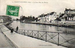 CPA - NOGENT-sur-SEINE (10) - Aspect De La Seine Et De La Rue Des Ecluses En 1900 - Nogent-sur-Seine