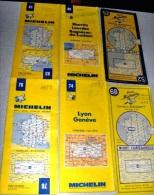 LOT De 39 CARTES ROUTIERES MICHELIN De France, Suisse Et Luxembourg (de 1951 à 1996) - Cartes Routières