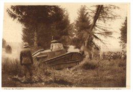 (PH 123) Very Old Postcard - France - Military WWI Era - Chars De Combat - Ausrüstung