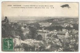 92 - MEUDON - L'Aviateur CHAVEZ Sur Aéroplane Blériot, établit Le Record De La Hauteur - EM 3795 - Meudon