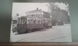CARTOLINA (RIPRODUZIONE) CAPOLINEA TRAMVIARIO TRIESTE S. SABBA - Trieste