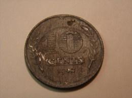 Monnaie. 38. Nederland. 10 Cent 1942 - [ 3] 1815-… : Royaume Des Pays-Bas