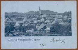 CROATIA, VARAZDINSKE TOPLICE-PANORAME PICTURE POSTCARD 1901RARE!!!!! - Croatia