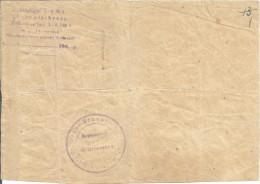 Nazi Germany - Ukraine1942  Blank Nikolaev, Nikolajew - 1939-45