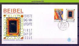 Mds273fb E273 TAAL COMMUNICATIE LANGUAGE PAPIAMENTU BIBLE ALPHABETH COMMUNICATION NEDERLANDSE ANTILLEN 1996 FDC # - Talen