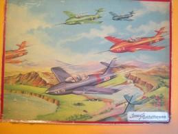 """Jeux /Boite De  2 Puzzles/Marque """"Jeux Artistiques""""/Avions Et Hélicoptére /1953   JE127 - Puzzle Games"""