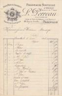 TROUVILLE SUR MER - CALVADOS - PHARMACIE NOUVELLE - L. PERREAU - Unclassified