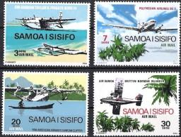 Samoa 1970 Yvertn° LP PA 3-6 *** MNH Cote 8 Euro Avions Vliegtuigen Airplanes - Samoa